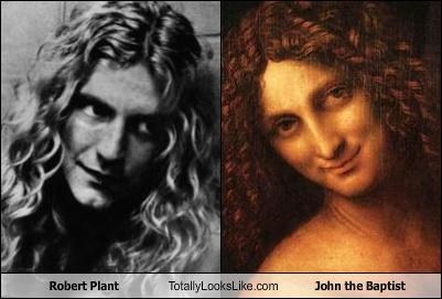 Young Robert Plant looks like John the Baptist