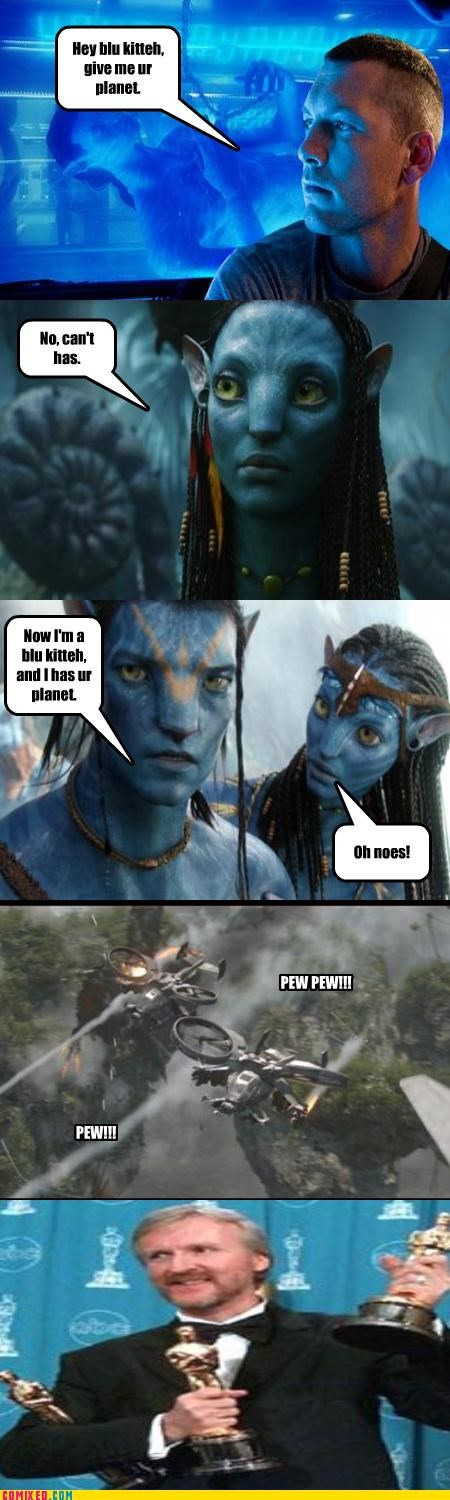 What I Think Avatar is About
