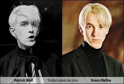 draco malfoy,Harry Potter,movies,patrick wolf,tom felton