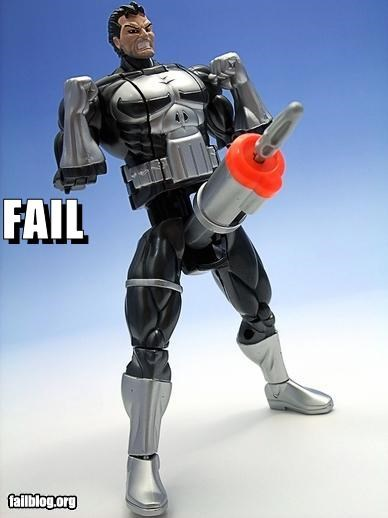 Toy Missile Launcher FAIL