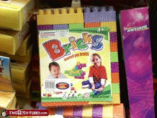 brains,brick,children,g rated,start,toys