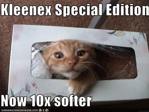 Kleenex Special Edition  Now 10x softer