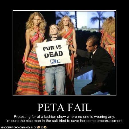 PETA FAIL