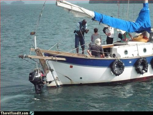 Powerboat or sailboat? Both!