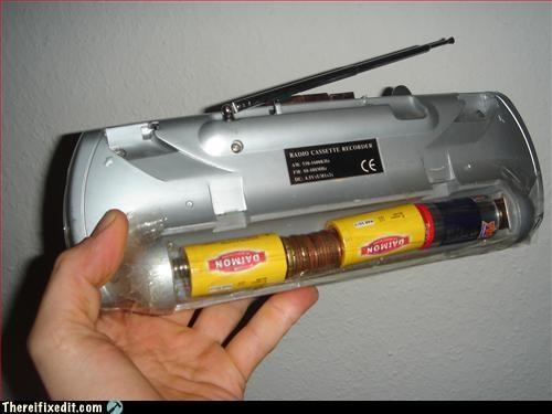 battery,money,pennies,unsafe