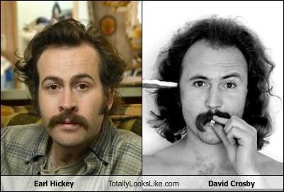 Earl Hickey Totally Looks Like David Crosby