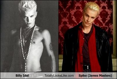 Billy Idol Totally Looks Like Spike (James Masters)
