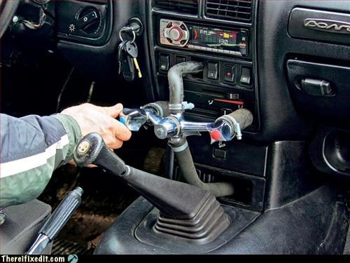 car,hot water,mod,pipes,use what you have