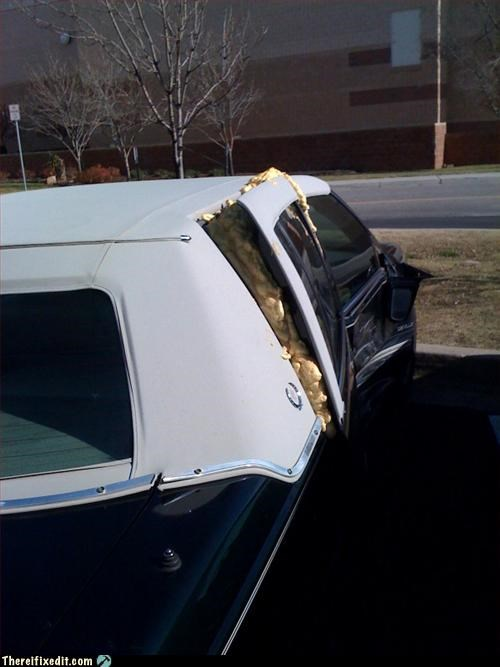 car,future,no insurance,spray foam