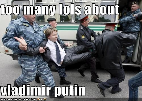 too many lols about  vladimir putin