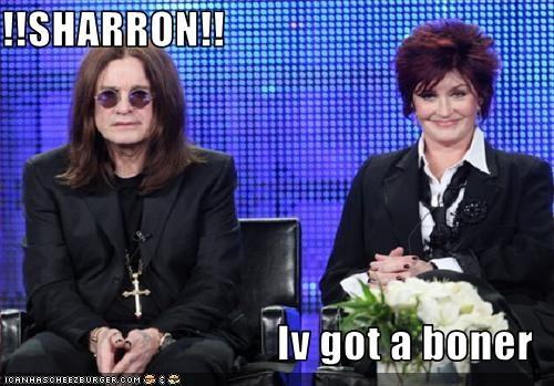 !!SHARRON!!  Iv got a boner