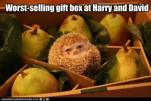 Worst-selling gift box at Harry and David