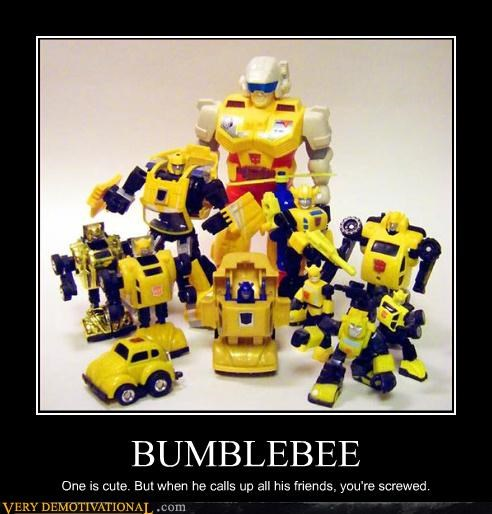 Bumblebee Has a Posse