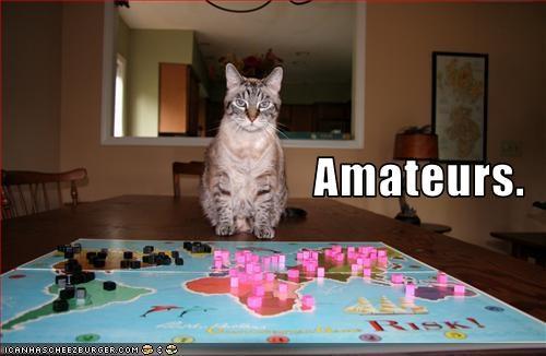 Amateurs.