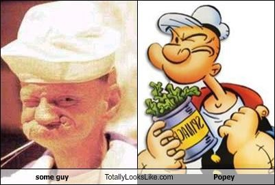 some guy Totally Looks Like Popey