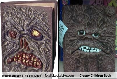 Necronomicon (The Evil Dead) Totally Looks Like Creepy Children Book