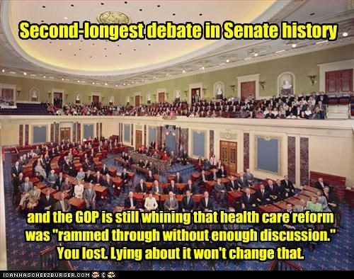 Second-longest debate in Senate history