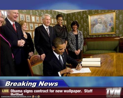 barack obama,decorations,democrats,First Lady,Michelle Obama,president,tacky,wallpaper