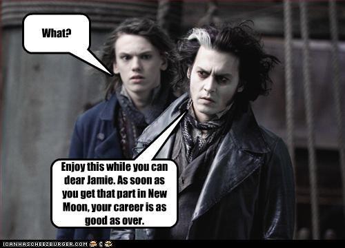 bad movies,jamie campbell bower,Johnny Depp,movies,Sweeney Todd,twilght,vampires