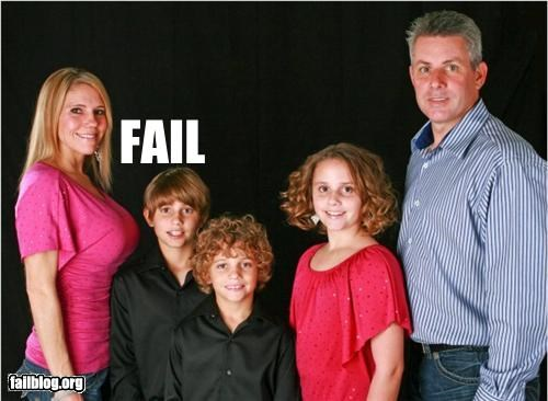 Family Portrait Fail