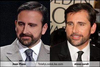 Joan Plaza Totally Looks Like steve carell