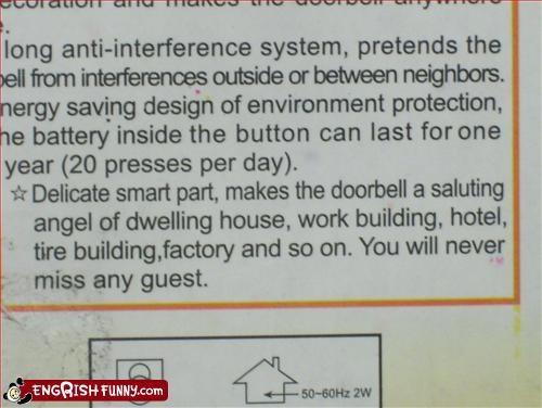 delicate smart part