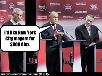 I'd like New York City mayors for $800 Alex.