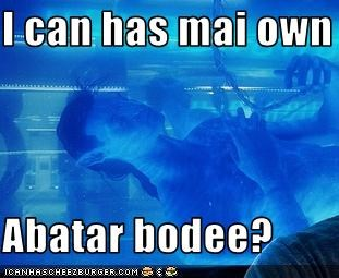 I can has mai own  Abatar bodee?