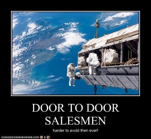 DOOR TO DOOR SALESMEN