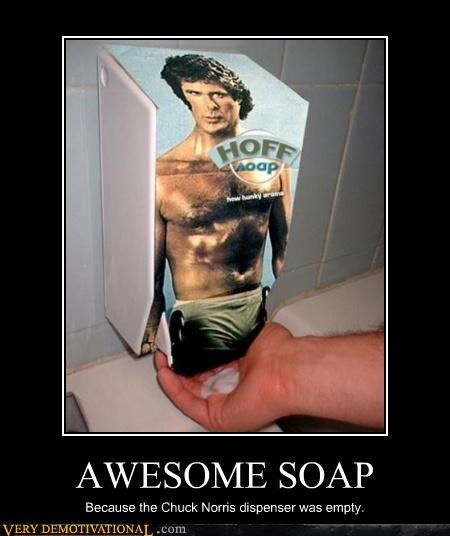 Get Clean With the Hoff