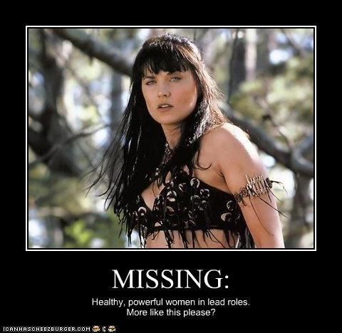 lead roles,Lucy Lawless,powerful,TV,women,Xena