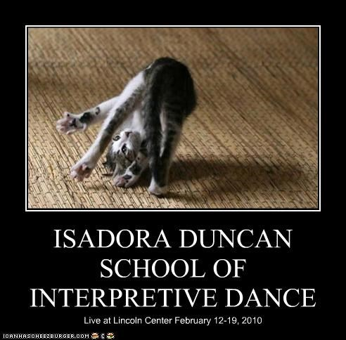 ISADORA DUNCAN SCHOOL OF INTERPRETIVE DANCE