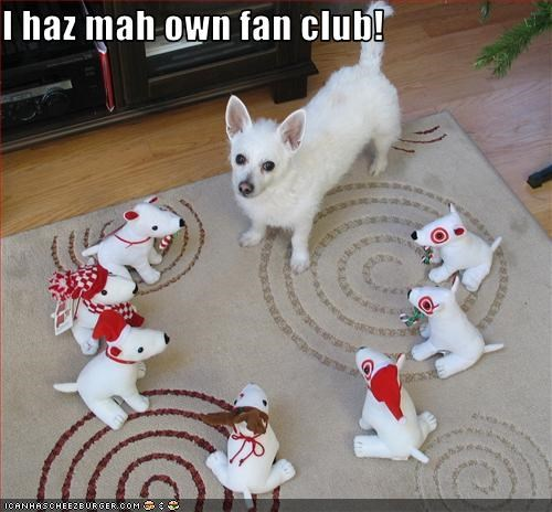I haz mah own fan club!