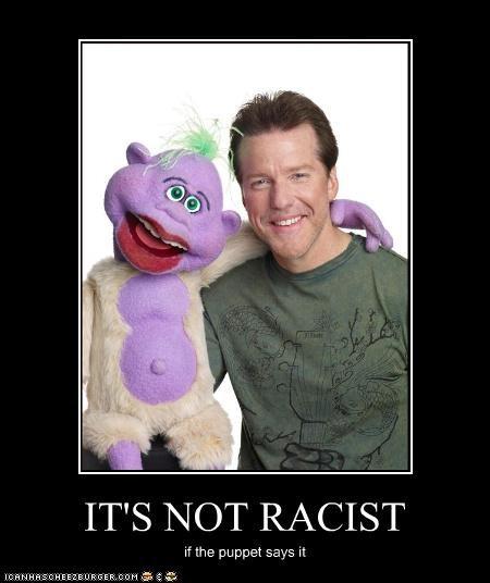 jeff dunham,peanut,puppets,racism,Ventriloquism