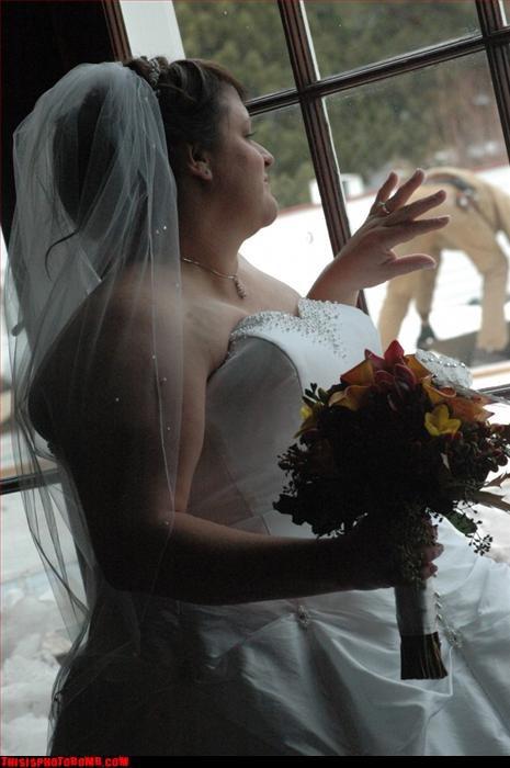 Awkward,butt,stranger,wedding