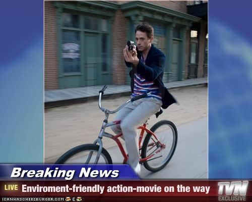 Breaking News - Enviroment-friendly action-movie on the way