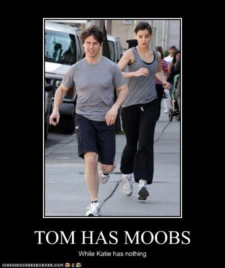 TOM HAS MOOBS