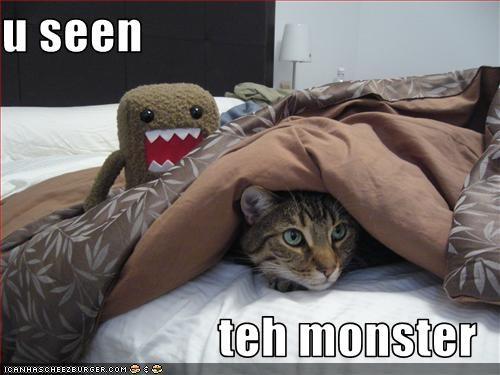 u seen  teh monster