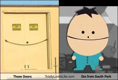 These Doors Totally Looks Like Ike from South Park