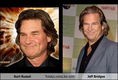 Kurt Russel Totally Looks Like Jeff Bridges