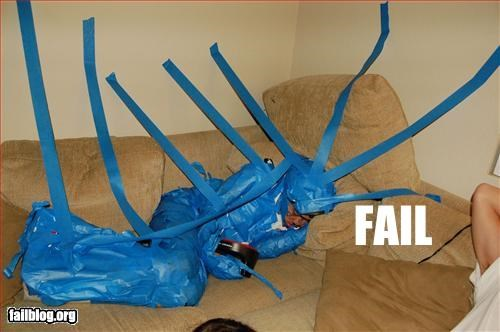 Drunk Fail, Blue Tape Win