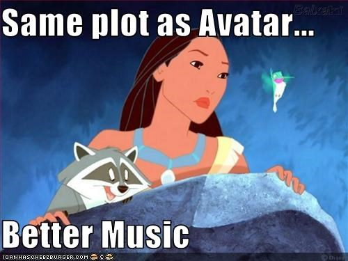 Same plot as Avatar...  Better Music