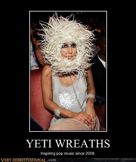 wtf,yeti,lady gaga