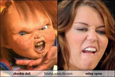 chuckie doll Totally Looks Like miley cyrus