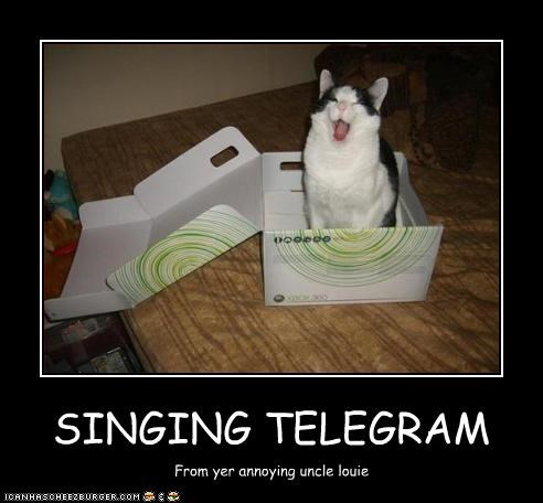 SINGING TELEGRAM
