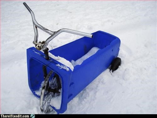 Wheelie-bin-bike-sledge