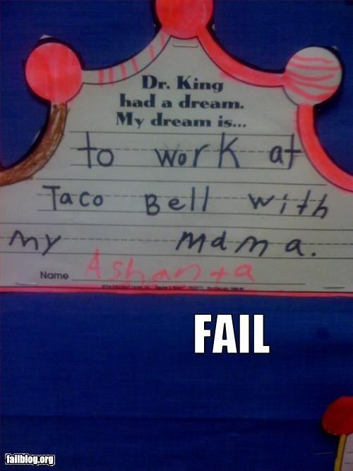 MLK Lesson FAIL