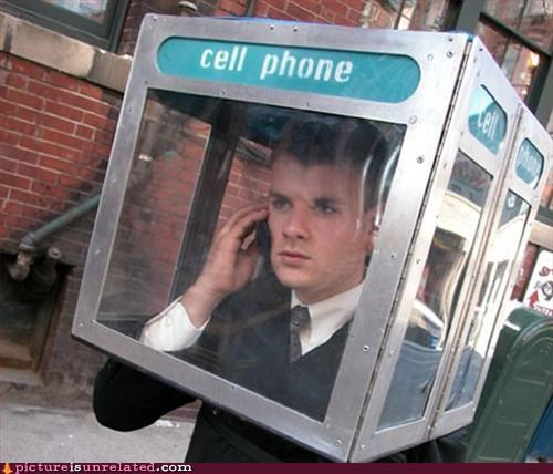 booth,business guy,cell phone,phone,wtf
