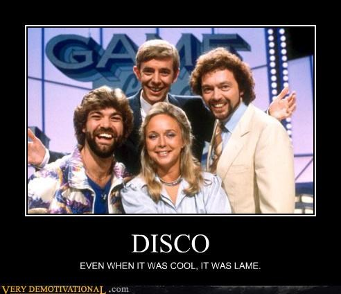 Disco Was Cool?