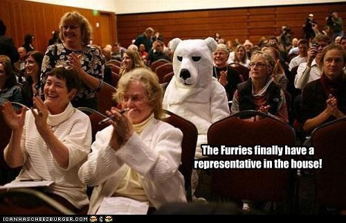 The Furries finally have a representative in the house!